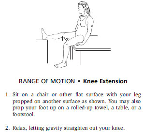 Range Of Motion - Knee Extension